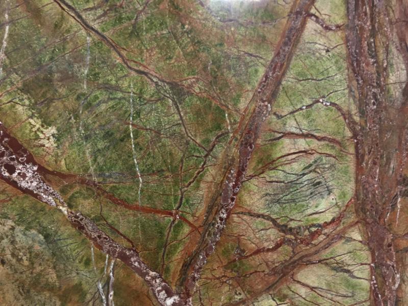 Rainforest Green Polished Gk Granite